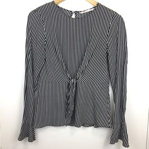 Zara - Trafaluo Collection   Striped Blouse   S
